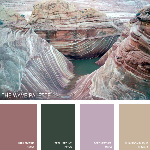 The wave palette