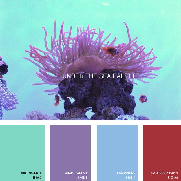 Under the sea palette