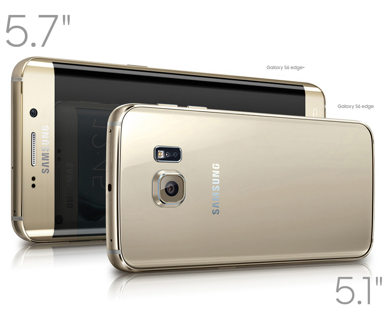 +Galaxy S6 Edge پاسخ سامسونگ به +iPhone 6 !!