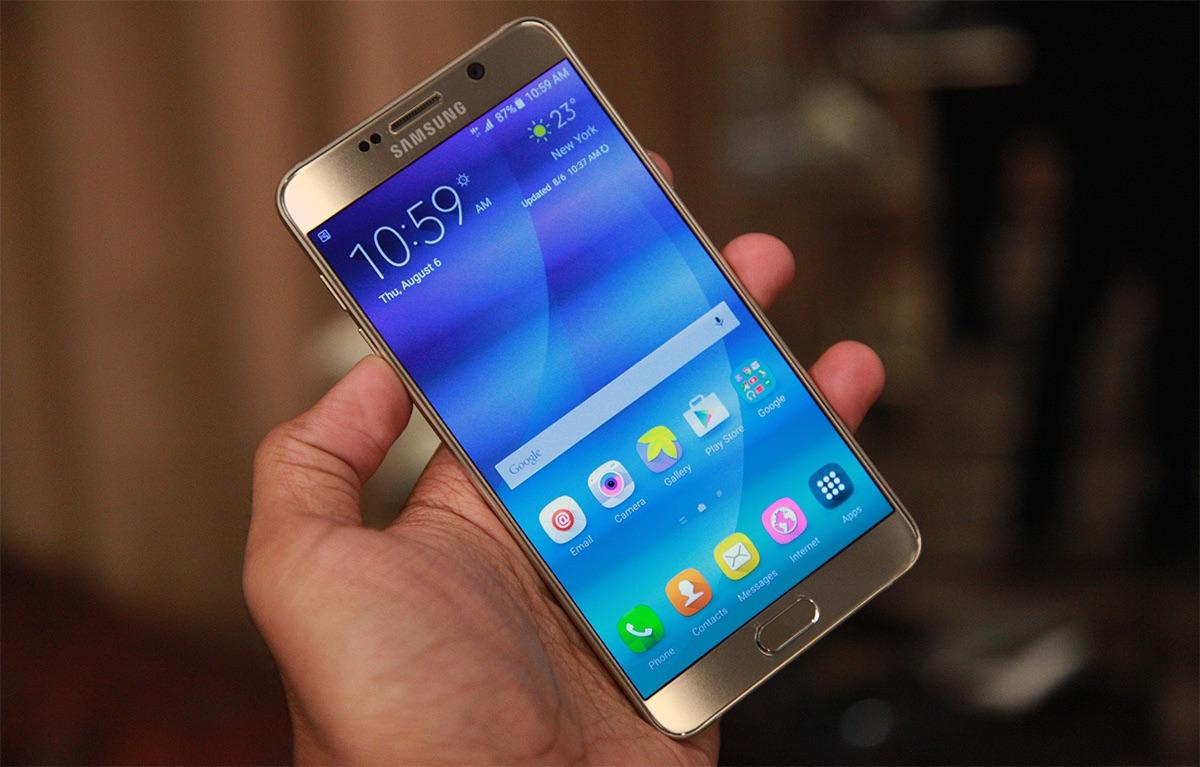سرانجام دو فبلت سامسونگ رونمایی شدند: Galaxy Note5 و Galaxy S6 Edge+