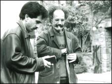 عباس معروفی و هوشنگ گلشیری