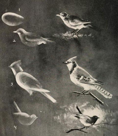 آموزش نقاشی با گچ روی تخته سیاه اثر Frederik Whitney به سال 1909 میلادی