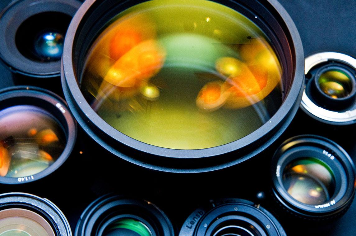 انواع لنز دوربین و کاربرد آنها