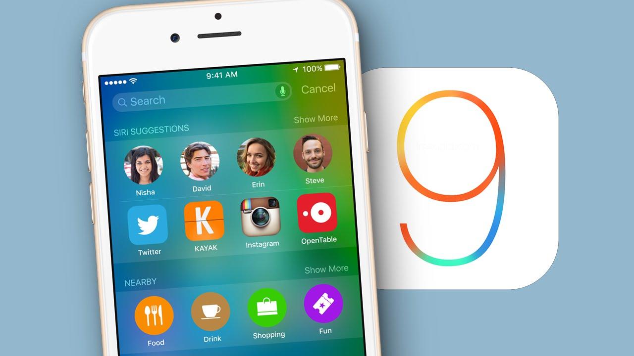 چهارشنبه آینده منتظر iOS 9 باشید; آشنایی با ویژگی ها و نقاط قوت iOS جدید