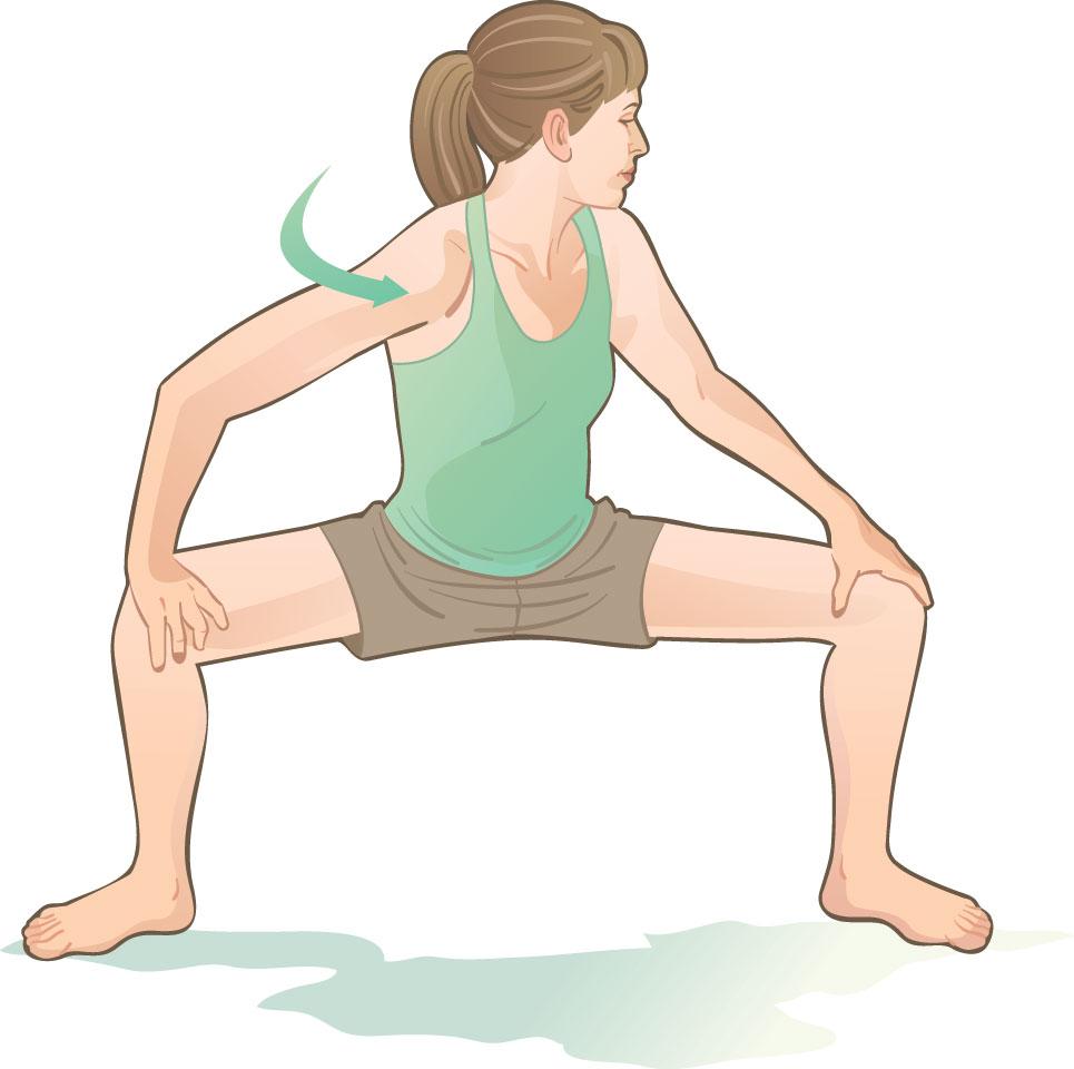 حرکت اسکوات برای درمان کمر درد