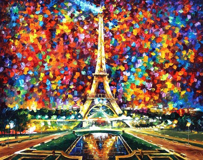 نقاشی های خاص، زیبا و رنگارنگ از Leonid Afremov