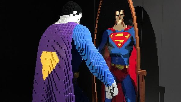 brick-superman-reflection