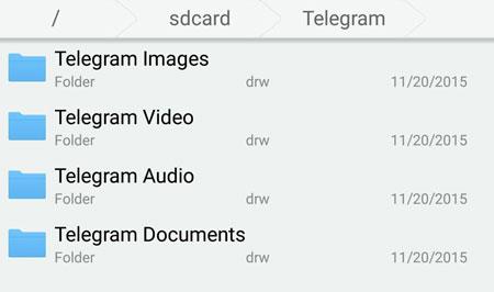 فایلهای دانلود شده تلگرام در کجا ذخیره میشوند؟ - ترفند تلگرام
