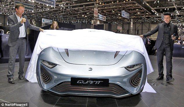 نیروی محرکه این اتومبیل آب شور است؛ بله درست متوجه شدید!