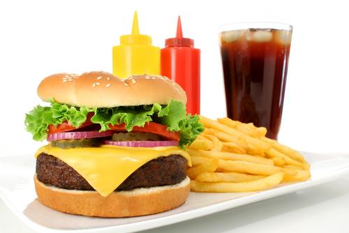 shutterstock_fast food hamburger