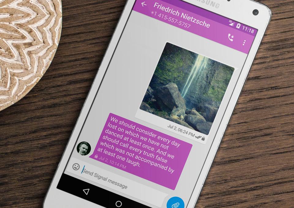 با امن ترین ابزار گفتگوی آنلاین آشنا شوید؛ Signal Private Messenger