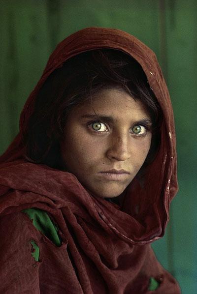 دختر افغان؛پرتره ای فراموش نشدنی از Steve McCurry