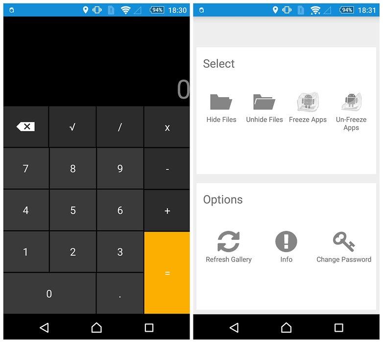 راه حل جالب Smart Hide Calculator برای پنهان کردن فایل در اندروید