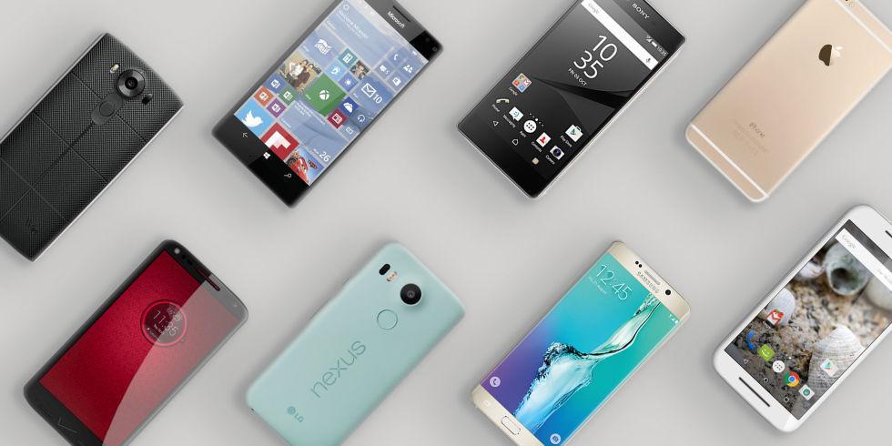 بهترین گوشی هوشمند سال ۲۰۱۵