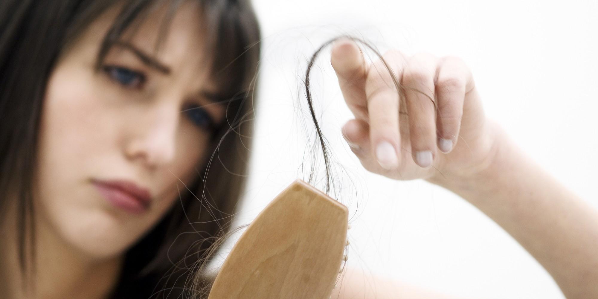 علت های ریزش مو