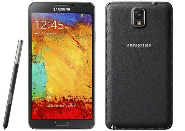 قاب پشتی شبیه چرم در Galaxy Note 3 را نمی توان فراموش کرد، این قاب زیبا در دست گرفتن Galaxy Note 3 را بسیار لذت بخش می کرد