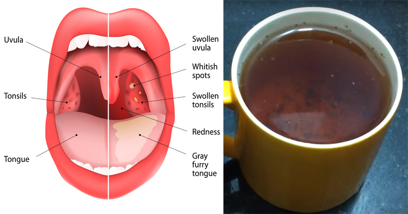 خواص چای پونه کوهی درمان سریع گلودرد