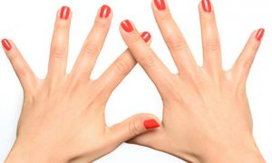 اندازه انگشتان دست
