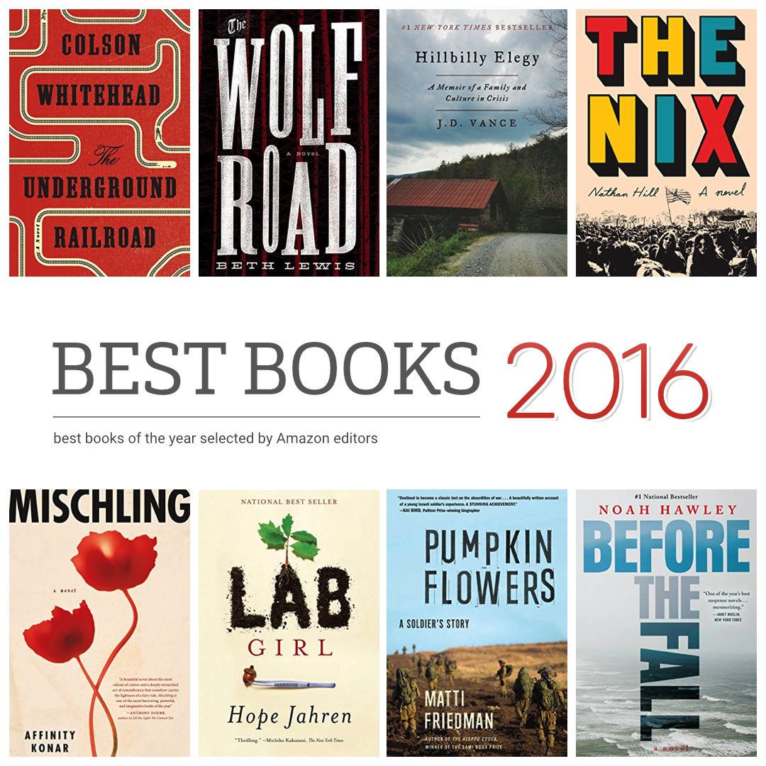 کتابهای برتر سال ۲۰۱۶ به انتخاب آمازون