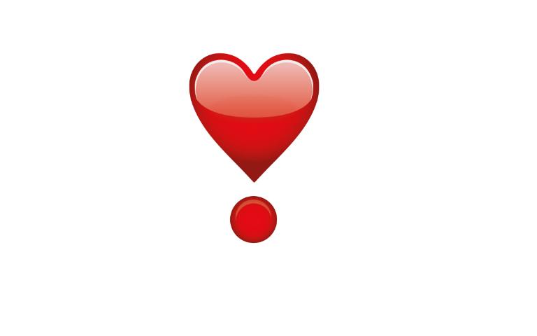 نام این اموجی revolving hearts یا دلتنگی قلب است!