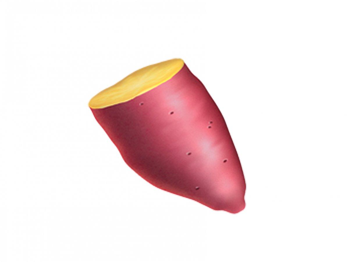 این شکلک تکه گوشت لخت نیست، بلکه یک تکه سیب زمین بو داده شده به روش خاص امریکایی هاست!