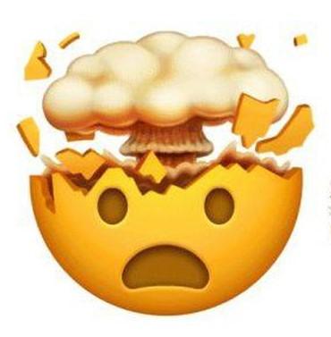 اموجی exploding head