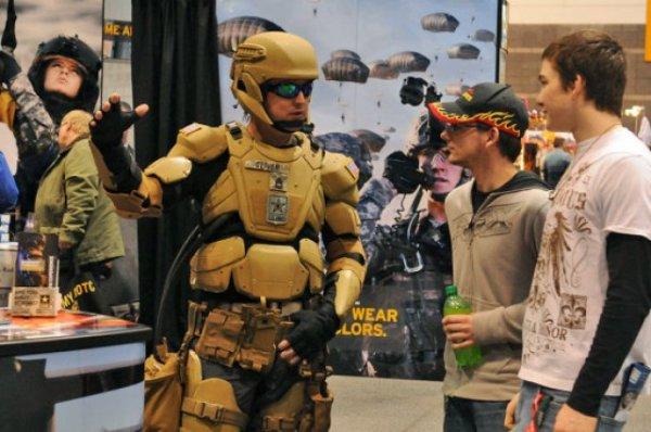 لباس رباتیک ارتش آمریکا