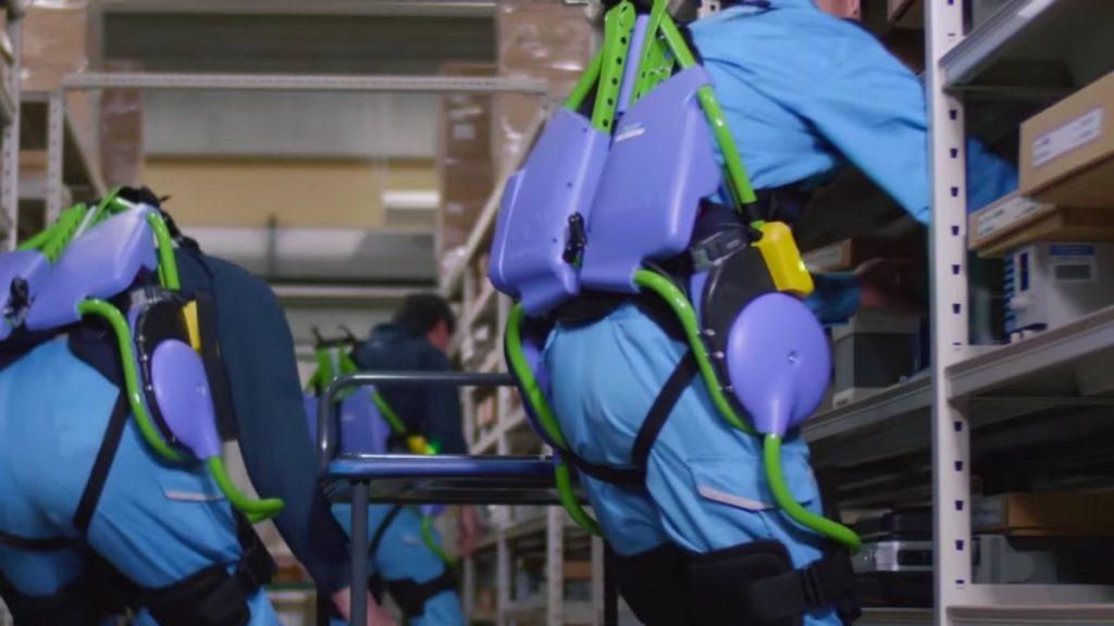 لباس رباتیک پاناسونیک