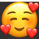 اموجی Smiling Face With 3 Hearts یا لبخند با 3 قلب!