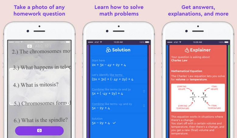 حل مسائل ریاضی با موبایل