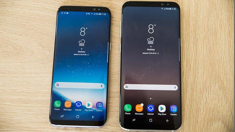 مقایسه Galaxy S8 و Galaxy S8 Plus