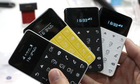 گوشی در ابعاد کارت ویزیت