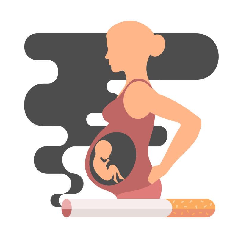 تاثیر سیگار بر جنین