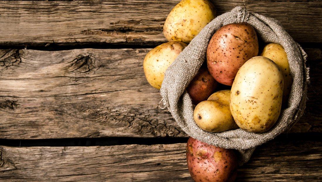 تشخیص سیب زمینی سالم