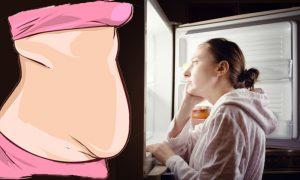 عادت های چاق کننده شبانه