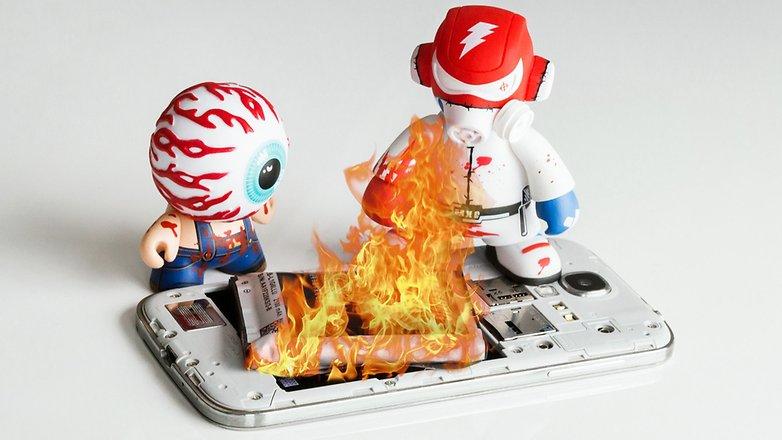 از داغ شدن گوشی جلوگیری کنید