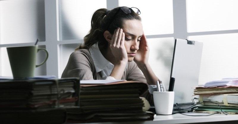 استرس نمیگذارد جذاب به نظر برسید