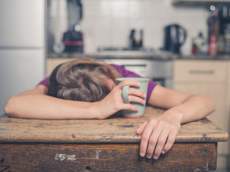 کمبود خواب میتواند میزان استرس را نیز افزایش دهد