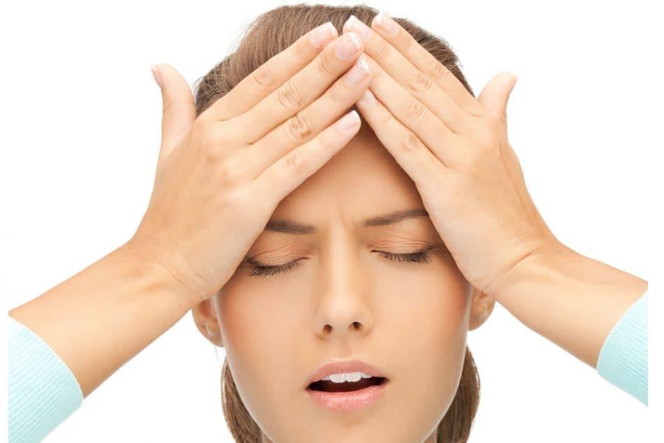 کم آبی بدن و سردرد