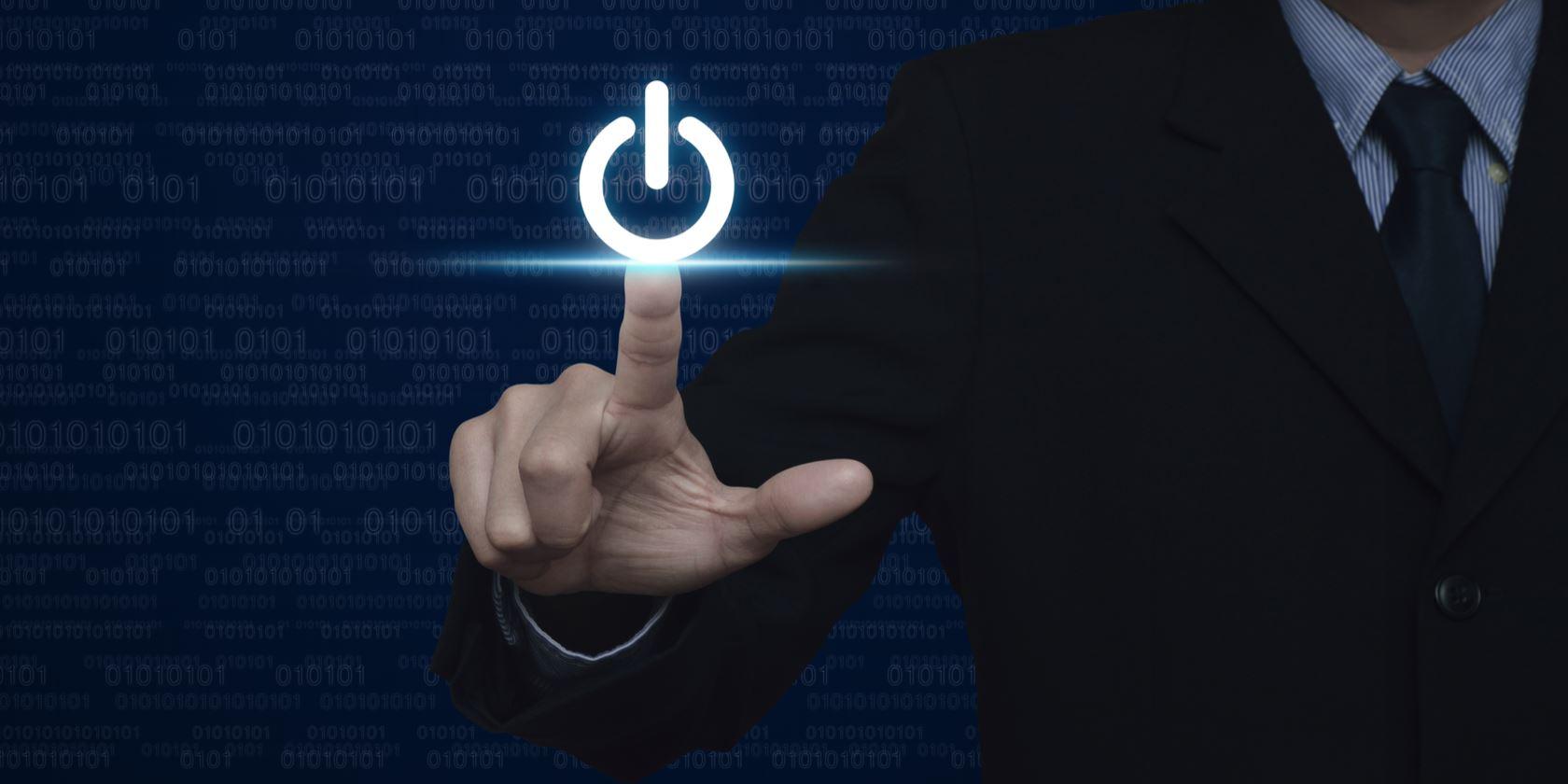 خاموش کردن صفحه نمایش با فشردن دکمه پاور در ویندوز ۱۰