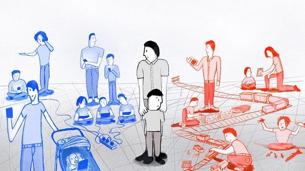 تاثیر والدین در زندگی کودک و رفتارهای وی بسیار زیاد است