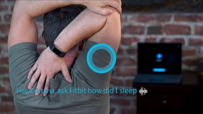 Cortana Fitbit