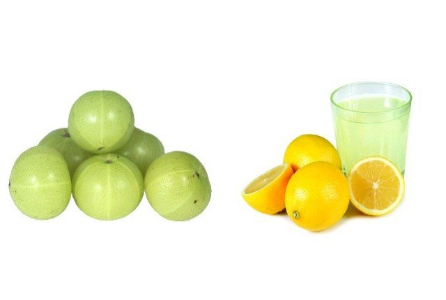 انگور فرنگی و آبلیمو - سیاه کردن موهای سفید و درمان سفیدی مو