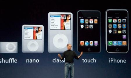 iPod shuffle و iPod nano