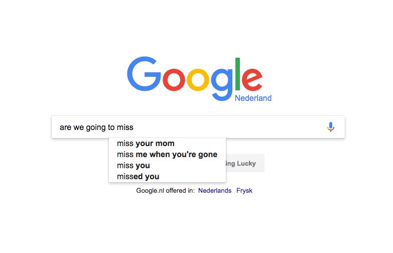 جستجوی در لحظه گوگل