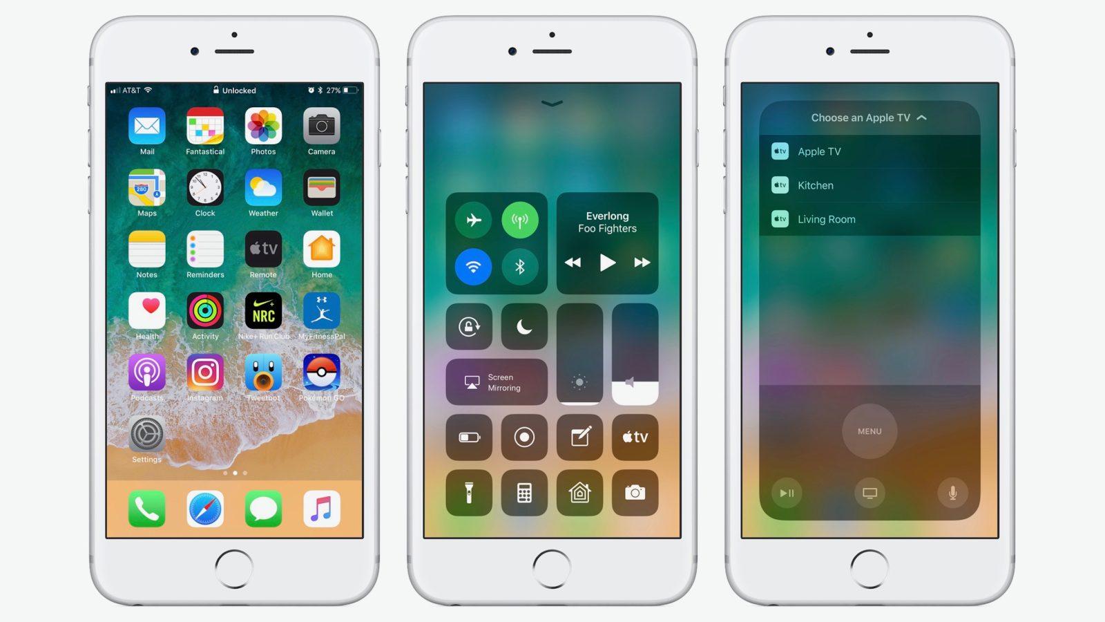 بررسی iOS 11