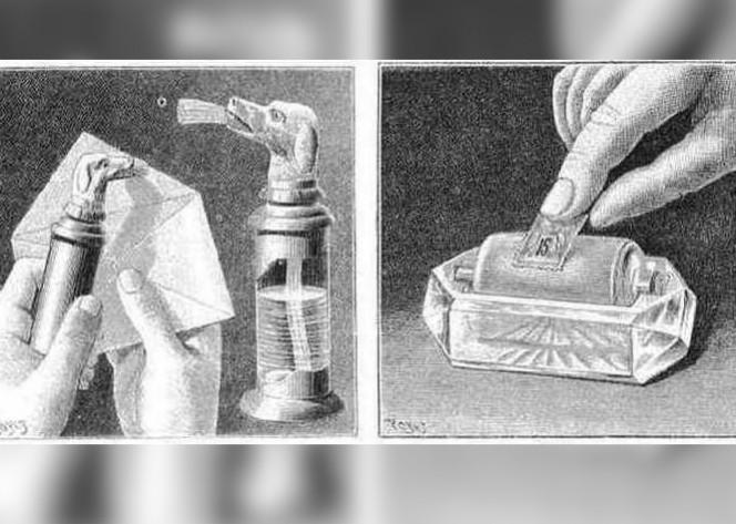 stamp lubricator