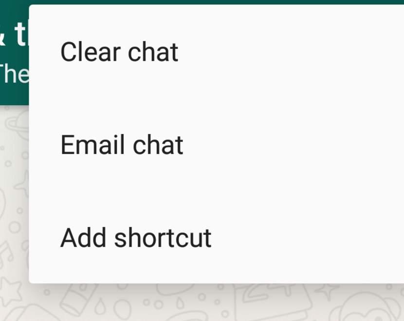 ایمیل کردن کل گفتگوی انجام شده