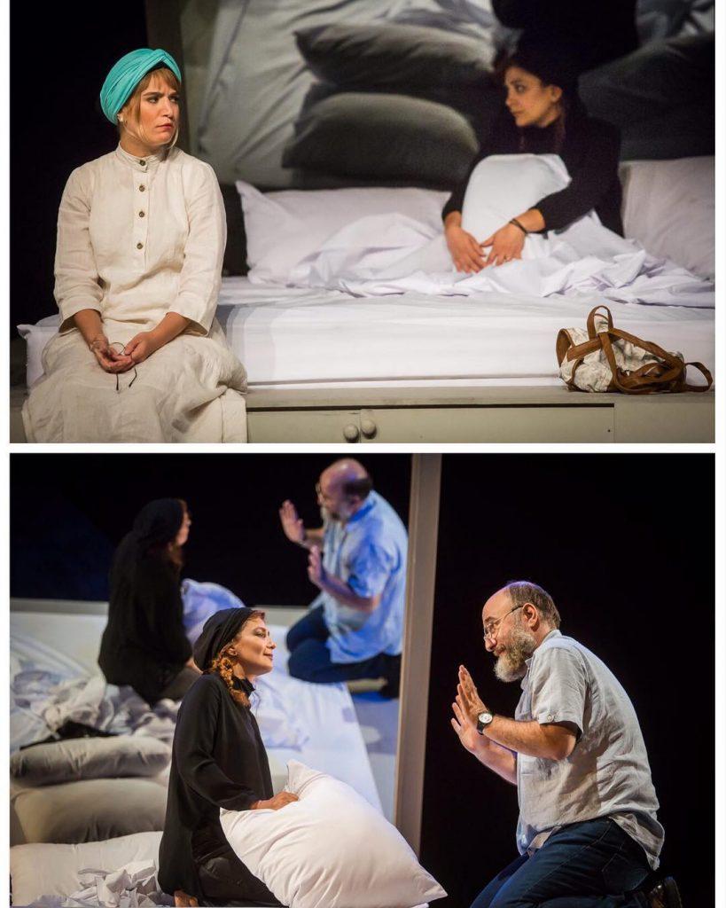 تئاتر اگه بمیری کاری از سمانه زندی نژاد - نوشته ی فلوریان زلر