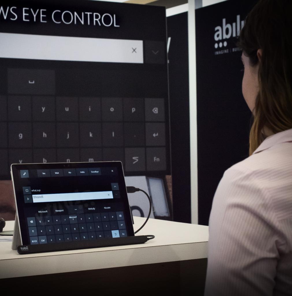 کنترل با چشم ویندوز